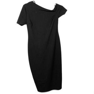 Zara WB   Asymmetrical Dress NWT